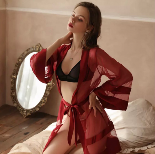 Кружевные халаты